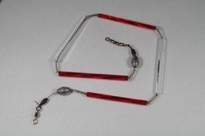 Trout-Flash ANDY WEYEL EDITION Reflex-Glas-Feder-Kette
