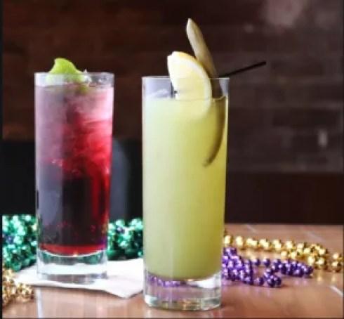 Mardi Gras Carnival Guide Cocktails
