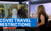 Angel Castellanos on BBC News discussing travel restrictions during COVID-19