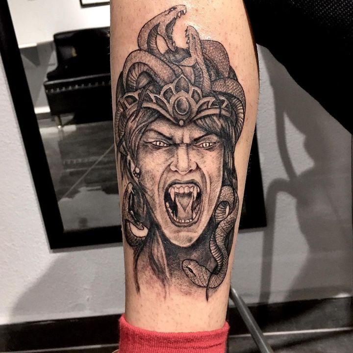 #medusatattoo#snakegirltattoo #intenzetattooink #tattoo #tattoo #dovme #dovmesan…