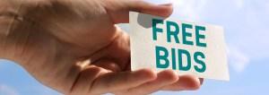 Free Bids photo
