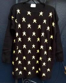 Compañía Fantástica STAR sweater. $72. photo by angelvancouver.com