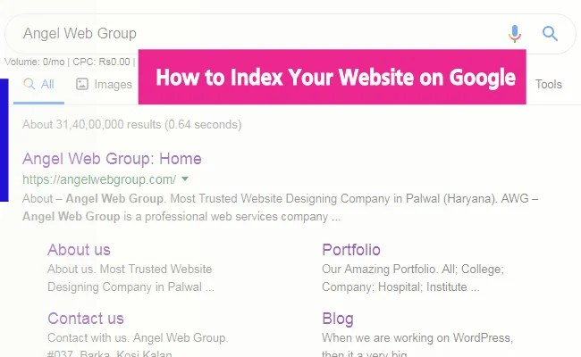 How to Index Your Website on Google