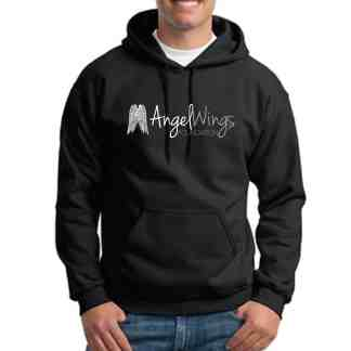 angel wings foundation pullover hoodie