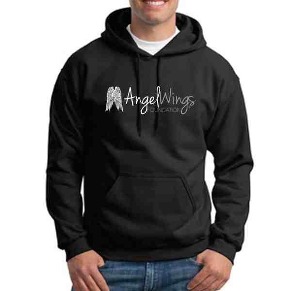 angel wings foundation pullover hoodie