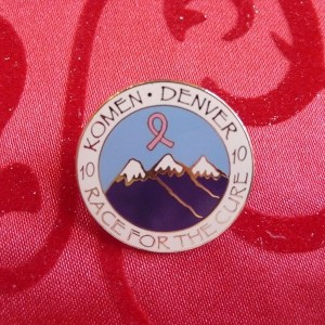 Race for the Cure Pin - Elizabeth Lindsay - Token Tags