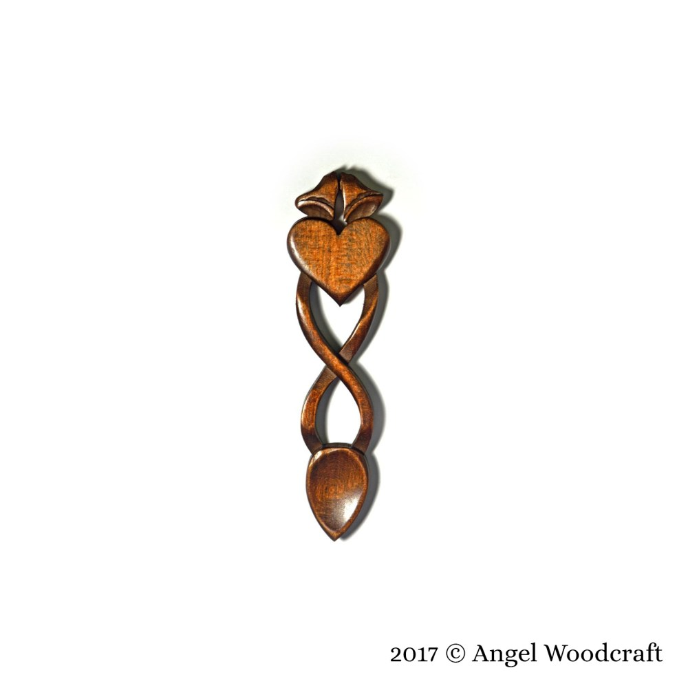 138 - Happy Ever After Welsh Love Spoon 2