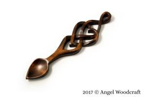 Never-ending Love Welsh Love Spoon