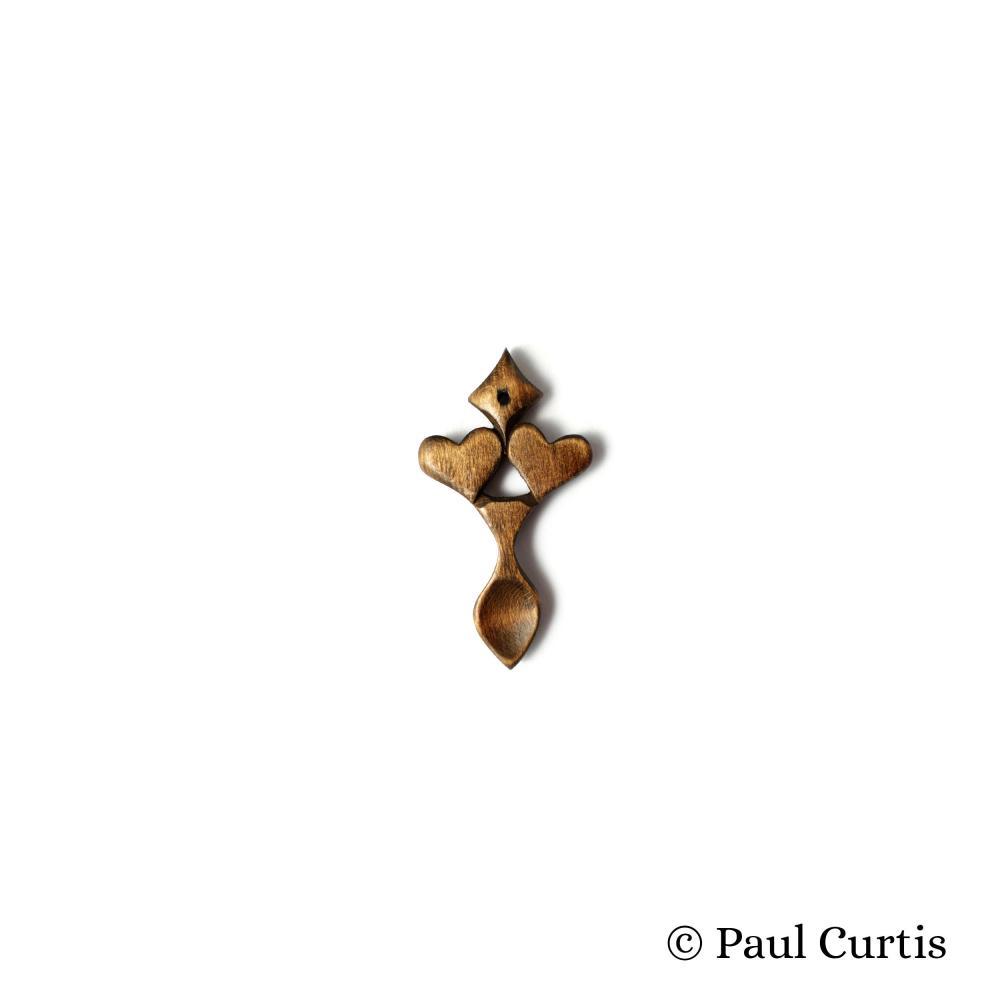 Love in Abundance Miniature Welsh Love Spoon - WM14 3