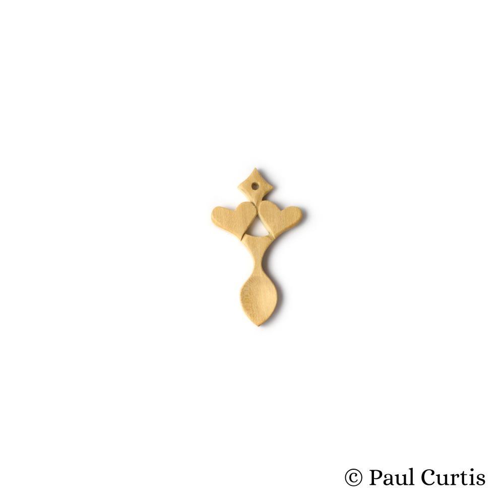 Love in Abundance Miniature Welsh Love Spoon - WM14 4