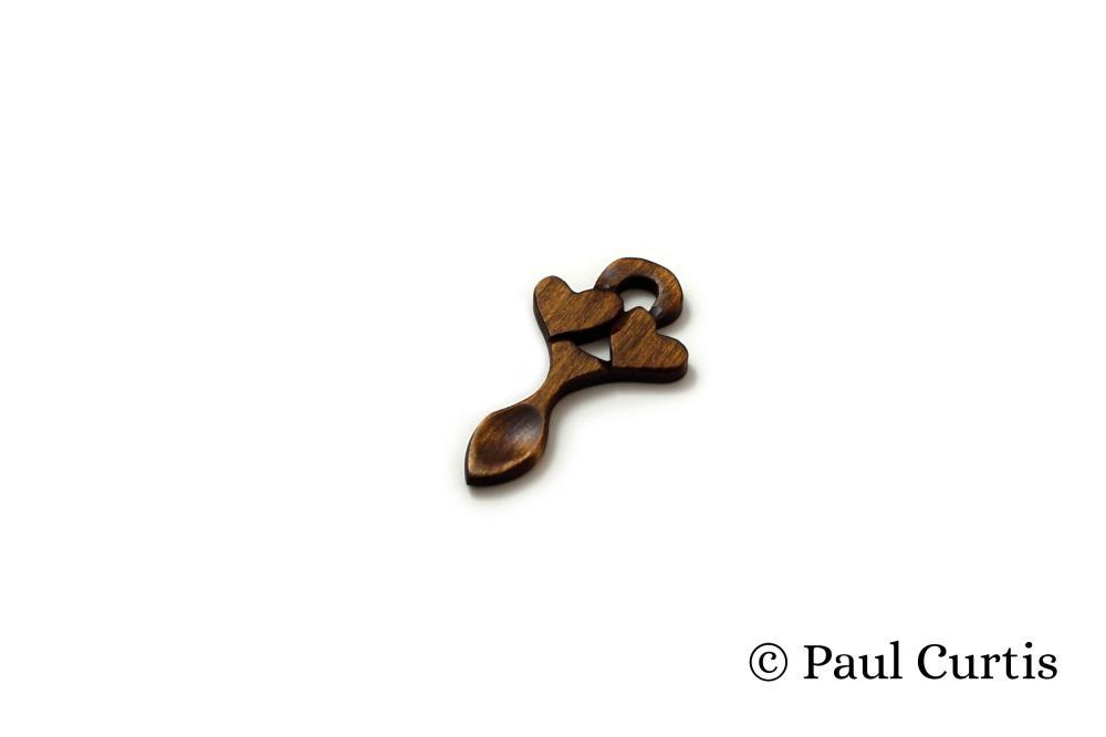 Endearing Love Miniature Welsh Love Spoon - WM15 1