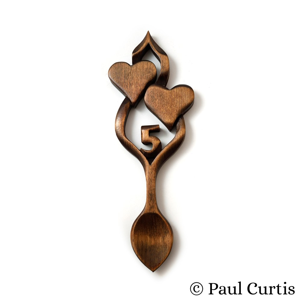 Birthday & Anniversary Welsh Love Spoon