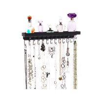 Wall Mount Necklace Holder - Schelon Black