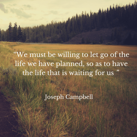 """""""We must be willing to let go of the"""