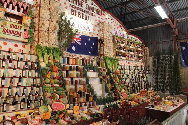 Tanunda Show Produce Display, March 2015
