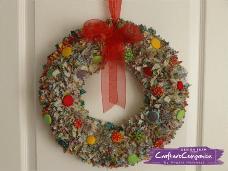button-wreath