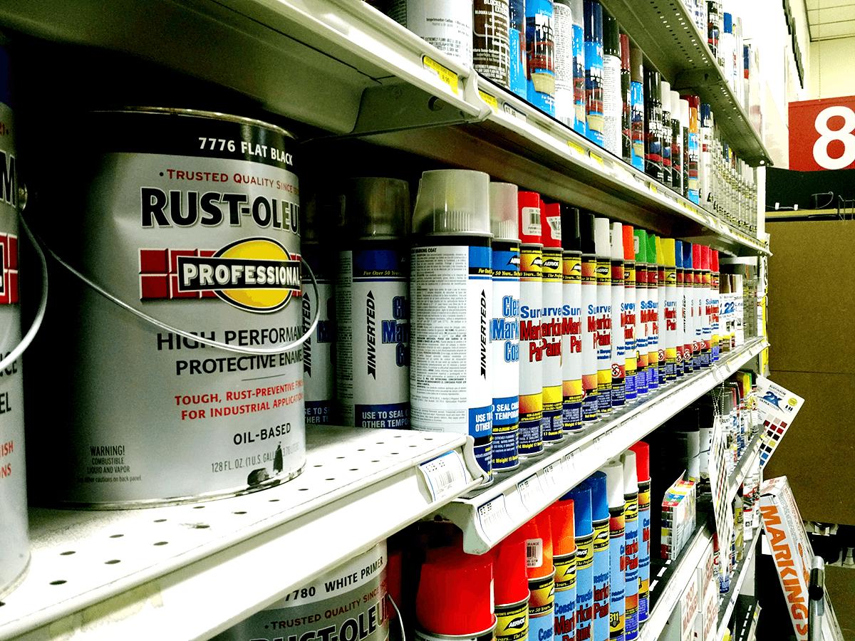 Paint-aisle