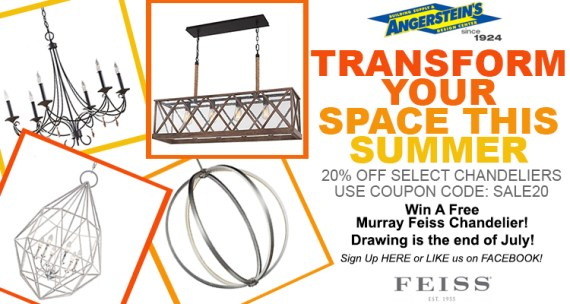 murray feiss lighting giveaway