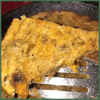 fritata top