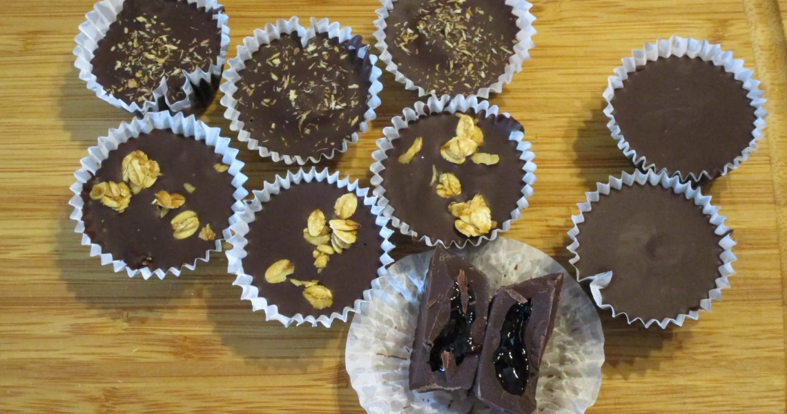 chocolate cups variety