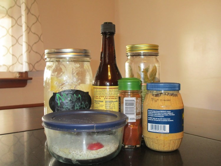 items for burger sauce