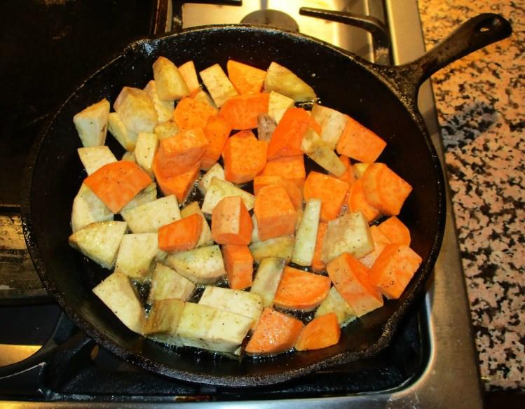 batata and sweet potato