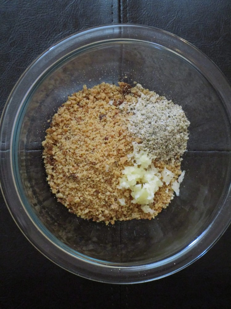 dry for stuffed artichokes