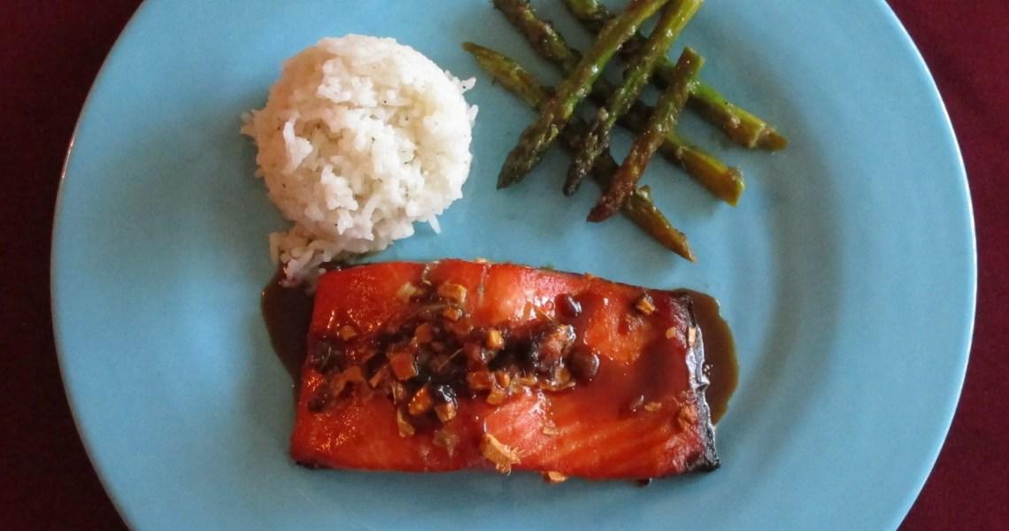 my dish ginger salmon