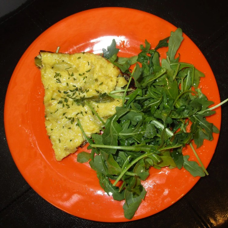 my dish asparagus and onion fritata