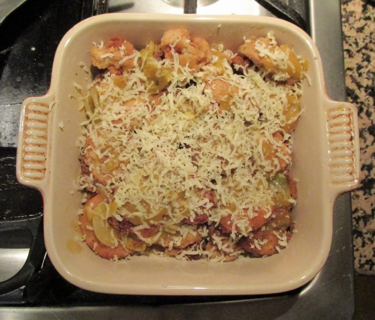 parm ready for oven