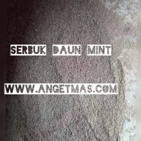 Serbuk daun mint
