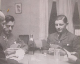 On the left partial could be Jim Creak or Jim Trapnell with walter and John