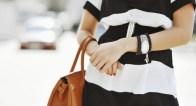 OLコーデのヒント!大人女子がバッグとスカーフを使いこなす!