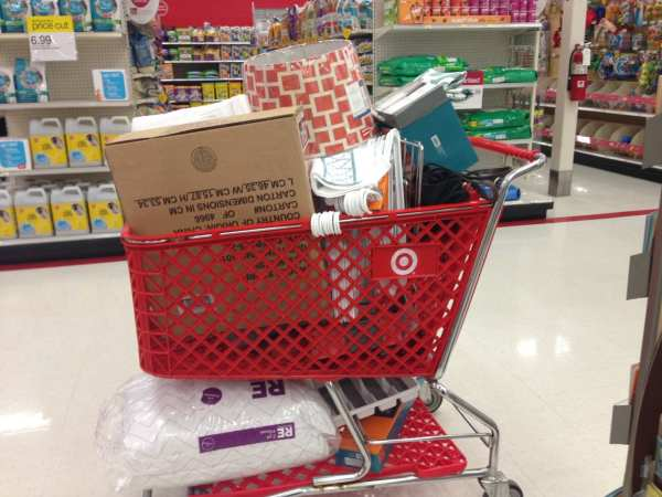 I've been to Target about 1,500 times in the past 60 days