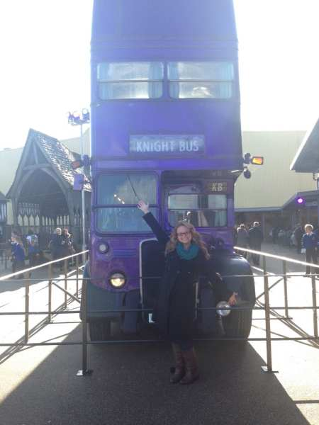 Did you know the Knight Bus is two traditional double decker buses cut and glued together?