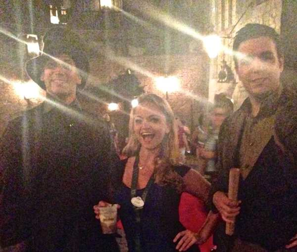 Angie Away + Wizards + Butterbeer = a truly magical evening