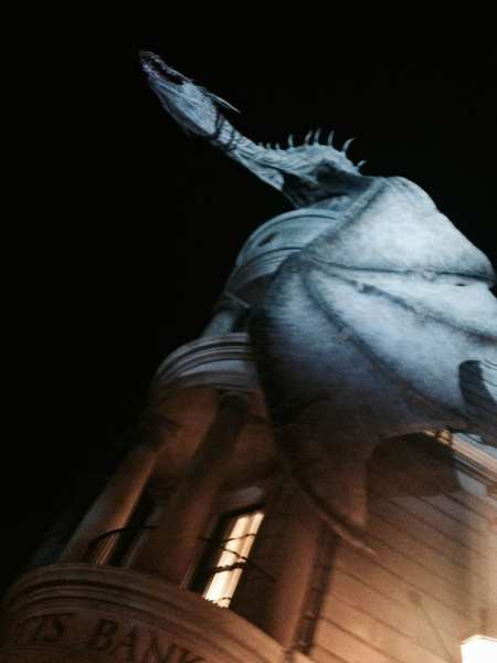 Have you ever met a 60-foot fire breathing dragon before? Not in this world.