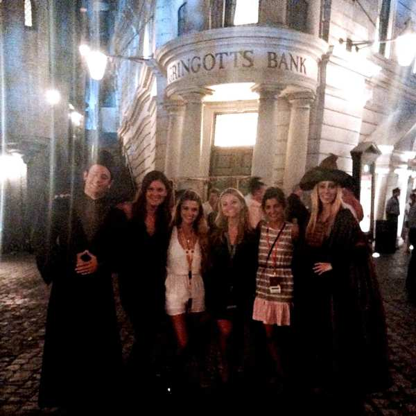I'm planning to ride Harry Potter and the Escape from Gringotts in a few hours... so I'll let you know how it is!