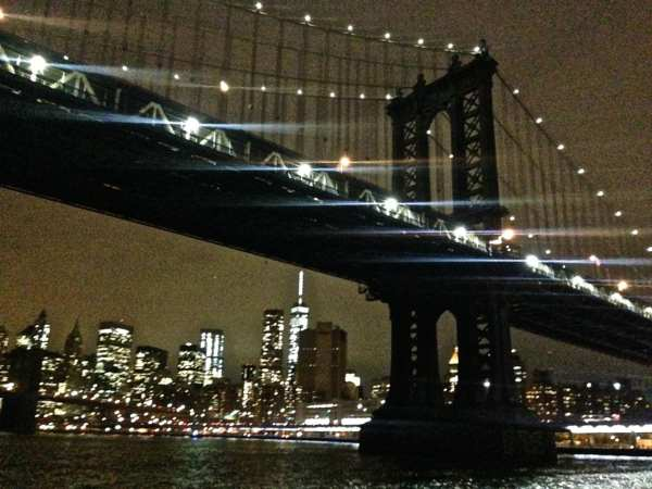 Nighttime on the East River