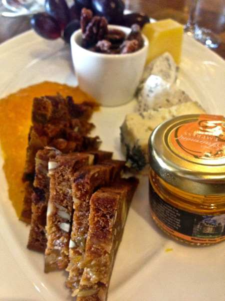 Afternoon tea begins with hotel-made honey