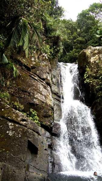 El Yunque Waterfall Puerto Rico