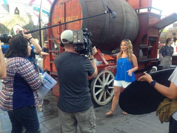Filming for Destination America