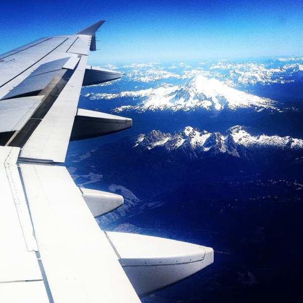En route to the Rockies
