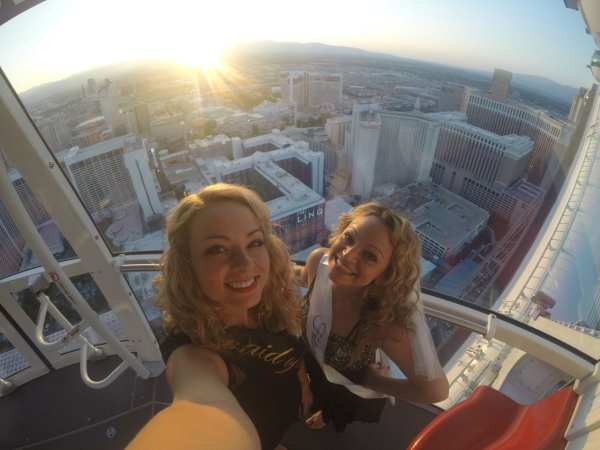 The Jet Sisters living it up in Vegas