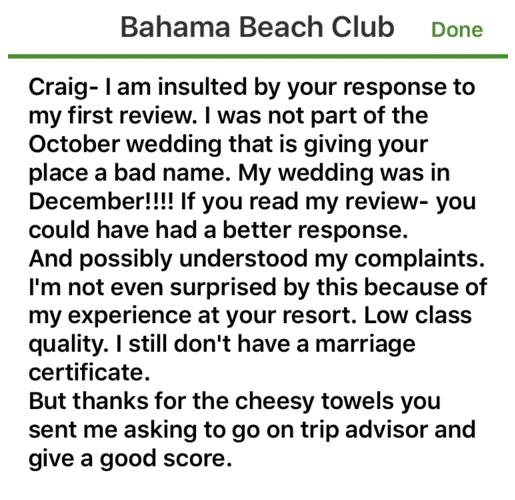 Bahama Beach Club - An Unforgettable Destination Wedding in The Bahamas