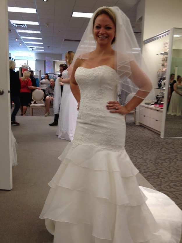 Angie Away Wedding Dress