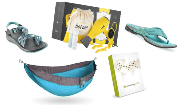 travel gift guideDryBar Roo Kammock Ancestry ABEO Chaco Gift Guide