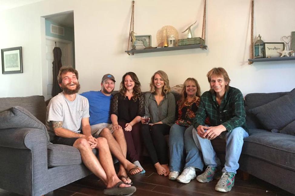Angie Away Family Photo