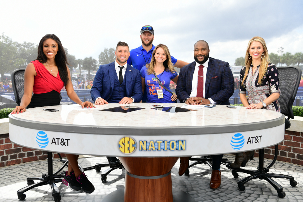 Angie Away SEC Nation
