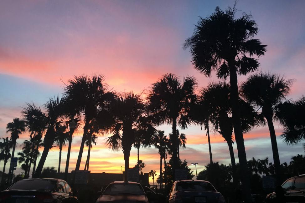 Jacksonville-Florida-Hurricane-Matthew-Sunset
